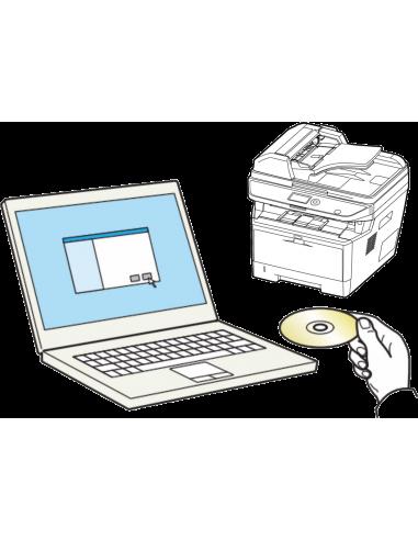 Instalacja nowego MFP i sterownika na 1 komputerze