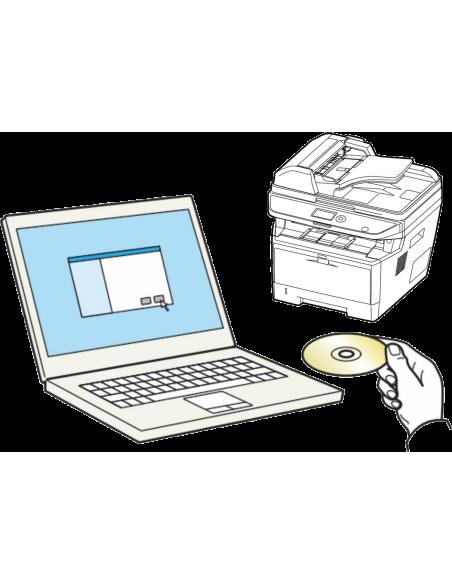 Konfiguracja urządzenia wielofunkcyjnego i sterownika na 1 PC